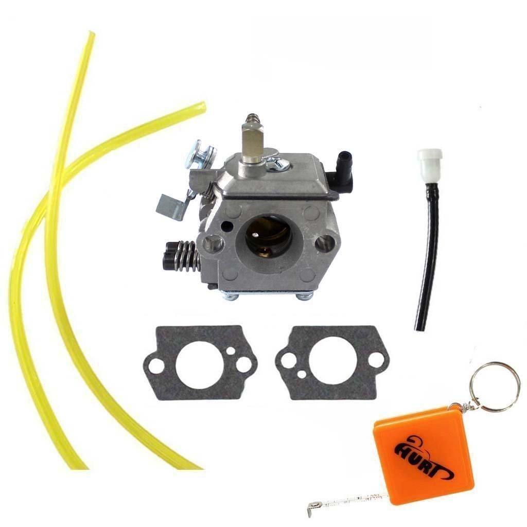 HURI Carburetor with Gasket Fuel Line for Stihl 028 028AV 028SUPER Replace 1118 120 0600 1118 120 0601