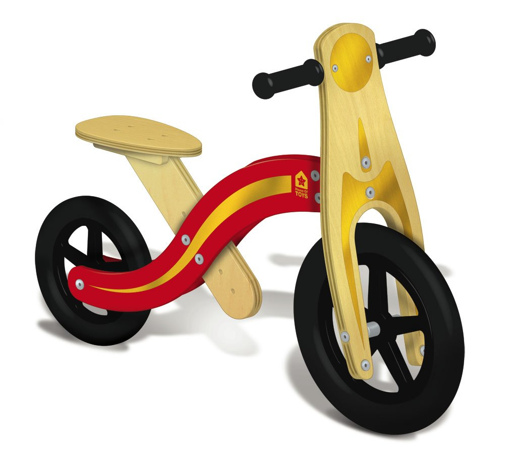 House of Toys 771395 - Bicicleta de madera