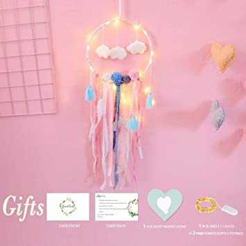 Cute Christmas Gifts For Girlfriend.Dream Catcher Gift For Girl Christmas Gifts Girls Room Decoration Cute Dream Catchers Baby Room Decor Dream Catchers For Kids Dream Catchers For