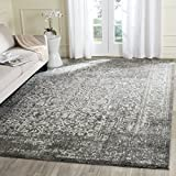 Cheap Safavieh Evoke Collection EVK256D Vintage Oriental Grey and Ivory Square Area Rug (6'7″ Square)