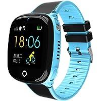 Meatyhjk HW11 IP67 Waterdicht Smart Horloge GPS Tracking Beveiliging Hek SOS Oproep Stappenteller Intelligent Horloge…