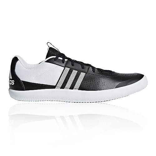 adidas Men's Throwstar Track and Field Shoes, Black (Cblack/Ftwwht/Hireor  Cblack