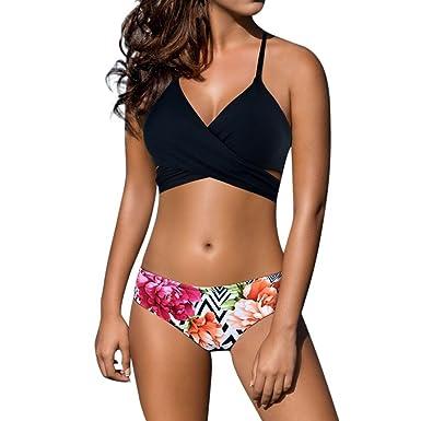 brand new 148ae f1314 beautyjourney ❤️Costumi Donna Mare Due Pezzi Push up Sexy Costume Donna Due  Pezzi Bikini Donna Imbottito Reggiseno Mare Push up Beachwear Ragazza ...