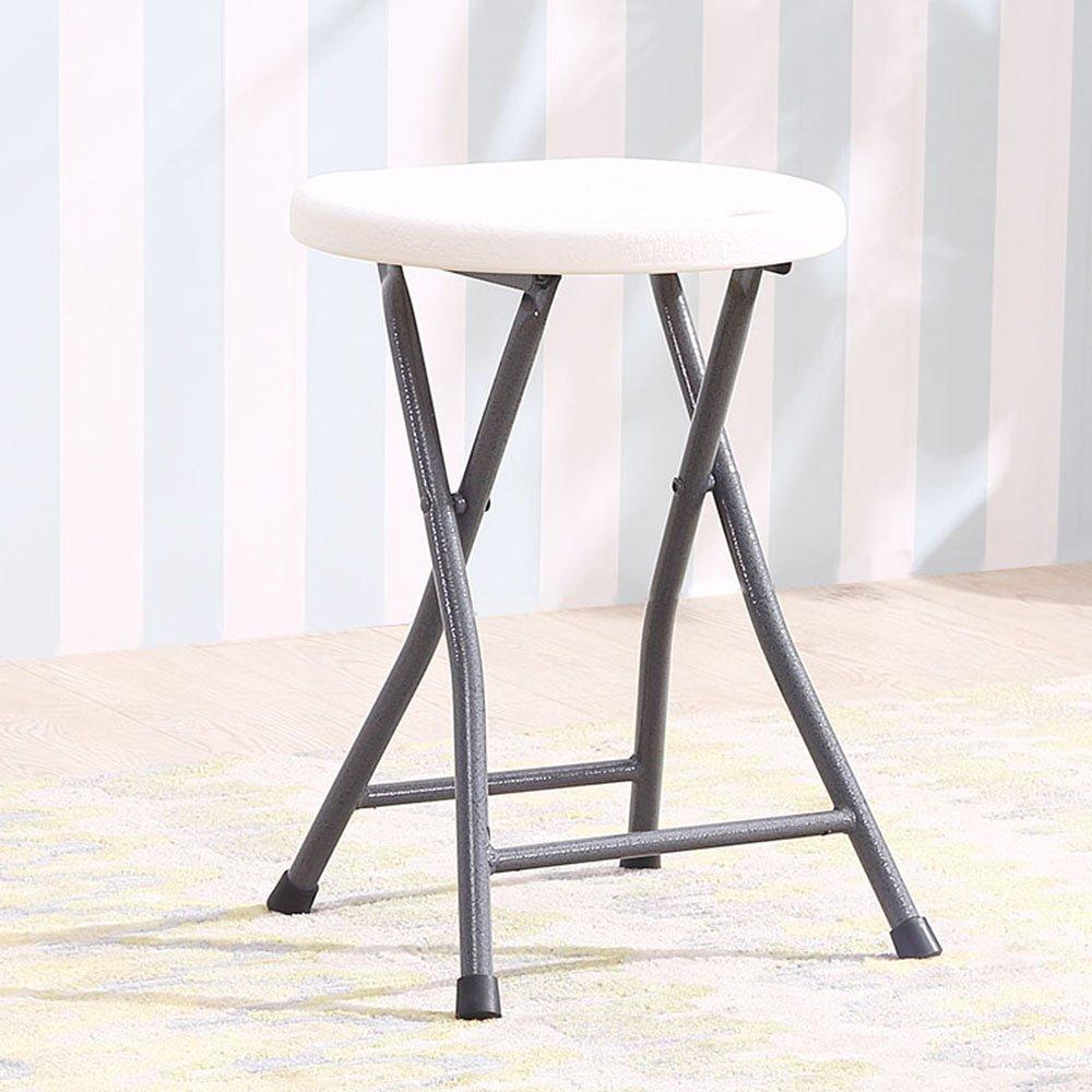 Moda práctica Taburete plegable pequeño / taburete de cena portable / taburete al aire libre grueso Taburete simple / taburete plástico casero (Multi-color opcional, puede ser cualquier partido) (los 45  28.5cm) (Color opcional) ( Co