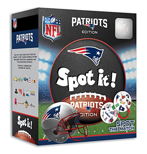 MasterPieces NFL New England Patriots Spot It ()