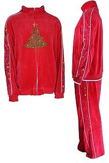 Amazon Com Kingsize Men S Big Tall Colorblock Velour Tracksuit Clothing