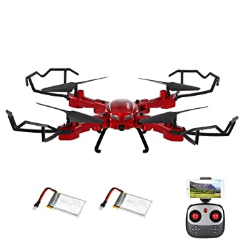 Drone con cámara, GoolRC T5W PRO 2.4G 4CH 720P HD Cámara Wifi FPV ...