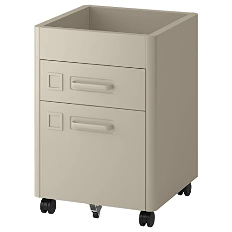 Amazon.com: IKEA Idåsen Drawer Unit with Smart Lock, Beige ...