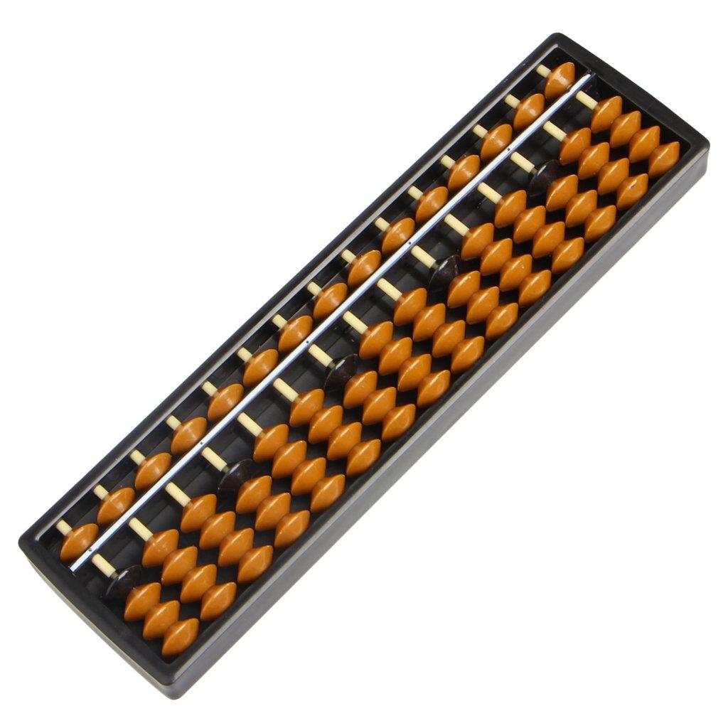 Runrain Portable Arithm/étique Soroban W//math/ématiques Outil de calcul Boulier color/é