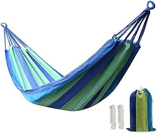 Kereith Al Aire Libre jardín Hamaca algodón Suave Camping Hamaca ...