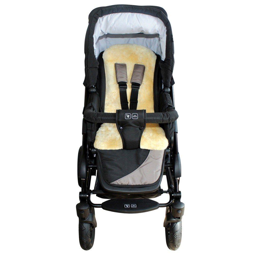 HEITMANN Baby Lammfell Kindersitzauflage gold-beige Walser GmbH 1375 GB