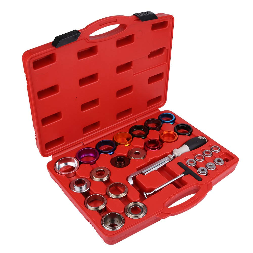 Keenso 27 Pcs Car Camshaft Crank Crankshaft Oil Seal Remover Installer Removal Tool Kit by Keenso (Image #2)