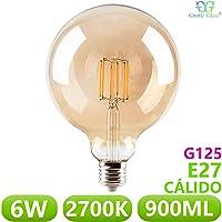 Bombilla LED Globo Filamento 6W equivalente 90W GNETIC
