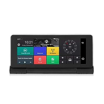 Cámara del Coche DVR HD 3G Android 5.0 GPS Bluetooth Dash CAM 1080P con la cámara