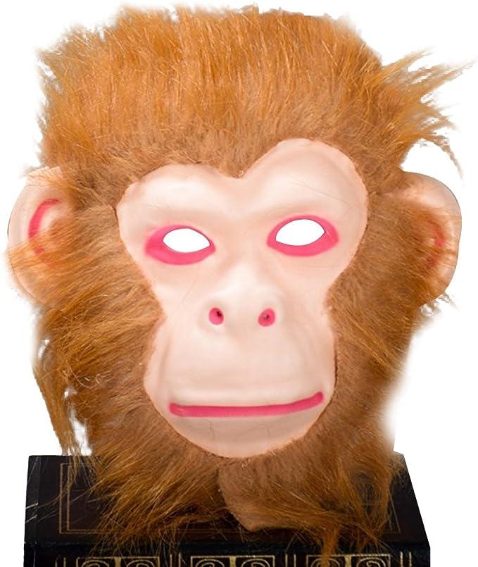Máscara de mono para disfraz de Halloween, máscara creepy terrificante para quemaduras dentales: Amazon.es: Juguetes y juegos