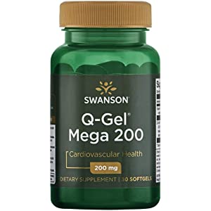 Swanson Q-Gel Mega 200 200 Milligrams 30 Sgels