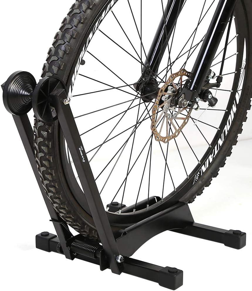 caballete soporte Bicicleta soporte para rueda portabicicletas ...
