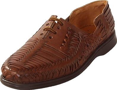 526782cecdfd Classico Men s Mexican Style Huarache Sandals - Brown (US ...
