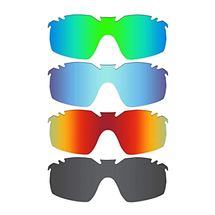 cc89930da5 Image Unavailable. Image not available for. Color  Mryok 4 Pair Polarized  Replacement Lenses for Oakley Radarlock XL ...