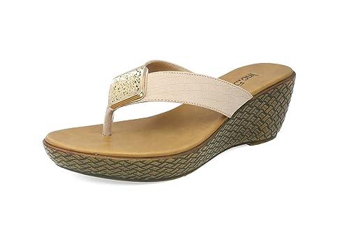 41e73264d8d Inc.5 Women Brown Synthetic Platform Shoes