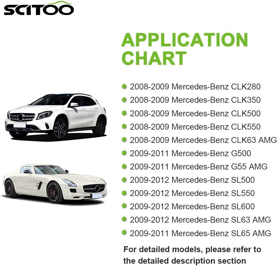 SCITOO ABS Plastic Heater Blower Motor w//Fan HVAC Resistors Blowers Motors Fit for Mercedes-Benz CLK280 2007-2009 //Mercedes-Benz CLK320 2004-2005 //Mercedes-Benz CLK500 2005-2009 Front