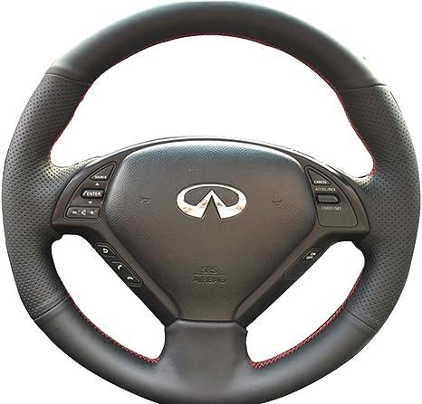 Amazon.com: Loncky - Funda de piel para volante de Infiniti ...