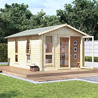 Log Cabin Shed Kit 14x10 28mm BillyOh