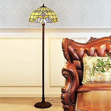 Amazon.com: Lámpara de pie estilo Tiffany de 16.0 in para ...