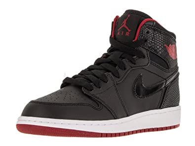 pretty nice 09256 7714a Jordan Big Kids Air 1 Retro High (GS) (Black White