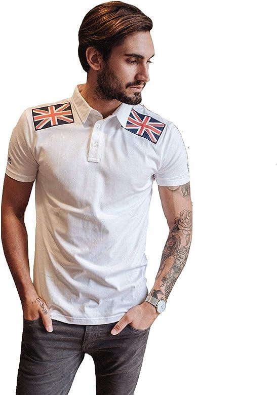 Polo British Blanc - Polo Lifestyle Ciclismo, Ropa Lifestyle para ...