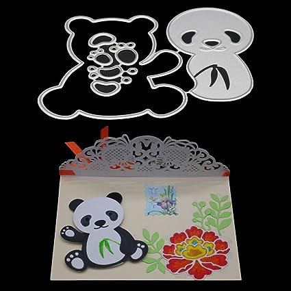 Ocamo Panda - Plantillas de bambú para cortar cuchillos y ...