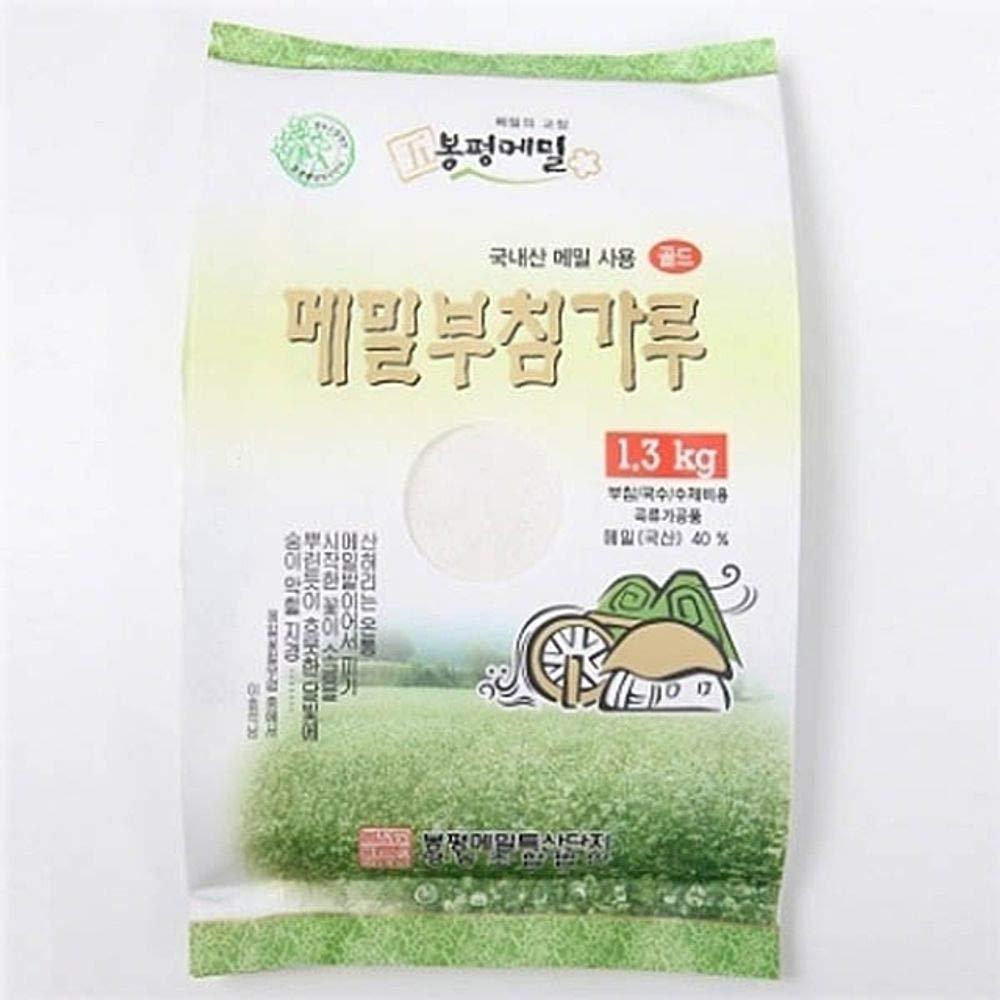 Bongpyeong Buckwheat Flour for Pancake 1.3kg (40% Buckwheat) Korean