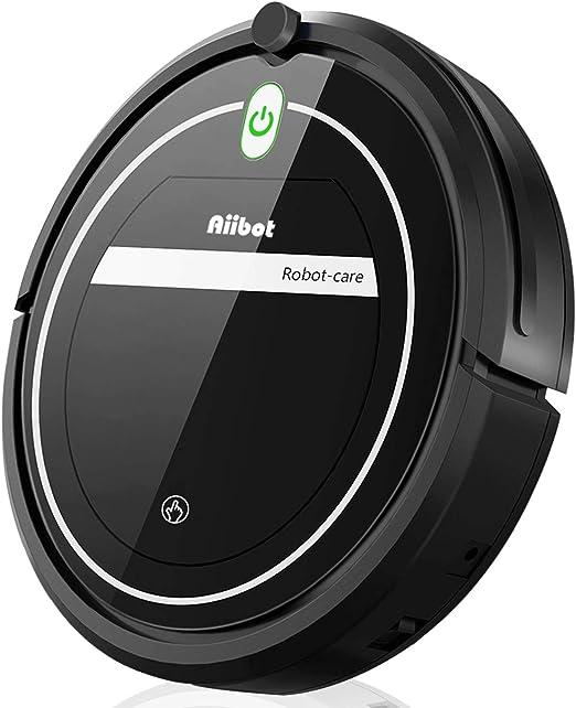 Aiibot Robot Aspirador Limpieza Inteligente, Succión Poderosa ...