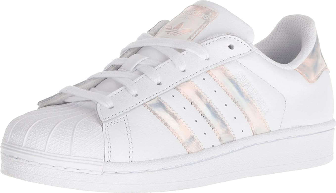 Adidas Originals Superstar El Weiss Blau Kinder Schuhe