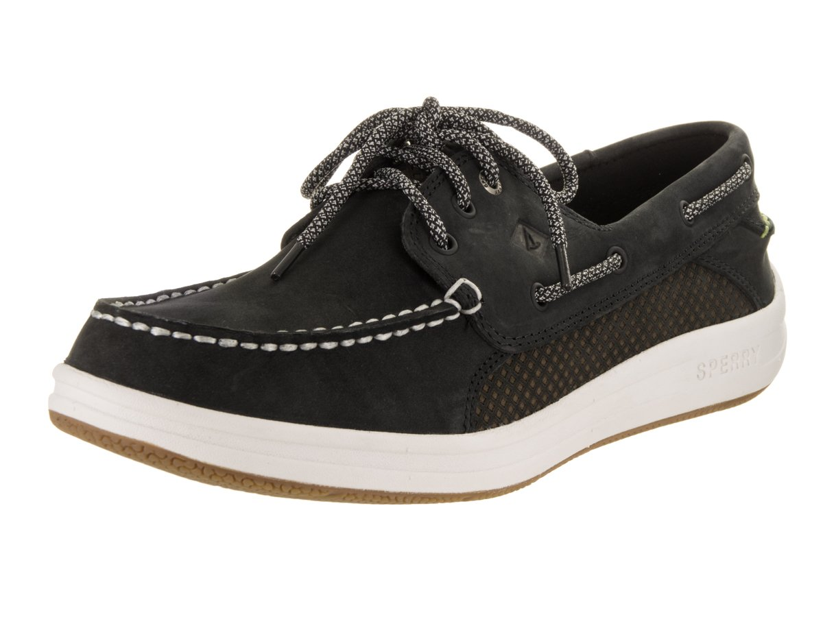 Sperry Top-Sider Gamefish 3-Eye Boat Shoe - Black - Mens - 8 by Sperry