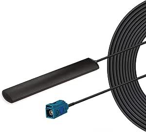 Bingfu Antena de 4G LTE WiFi para Coche Antena de Parche de Montaje Adhesivo Oculto para Volkswagen Audi Vehículo SUV Coche Reproductor Receptor de la ...