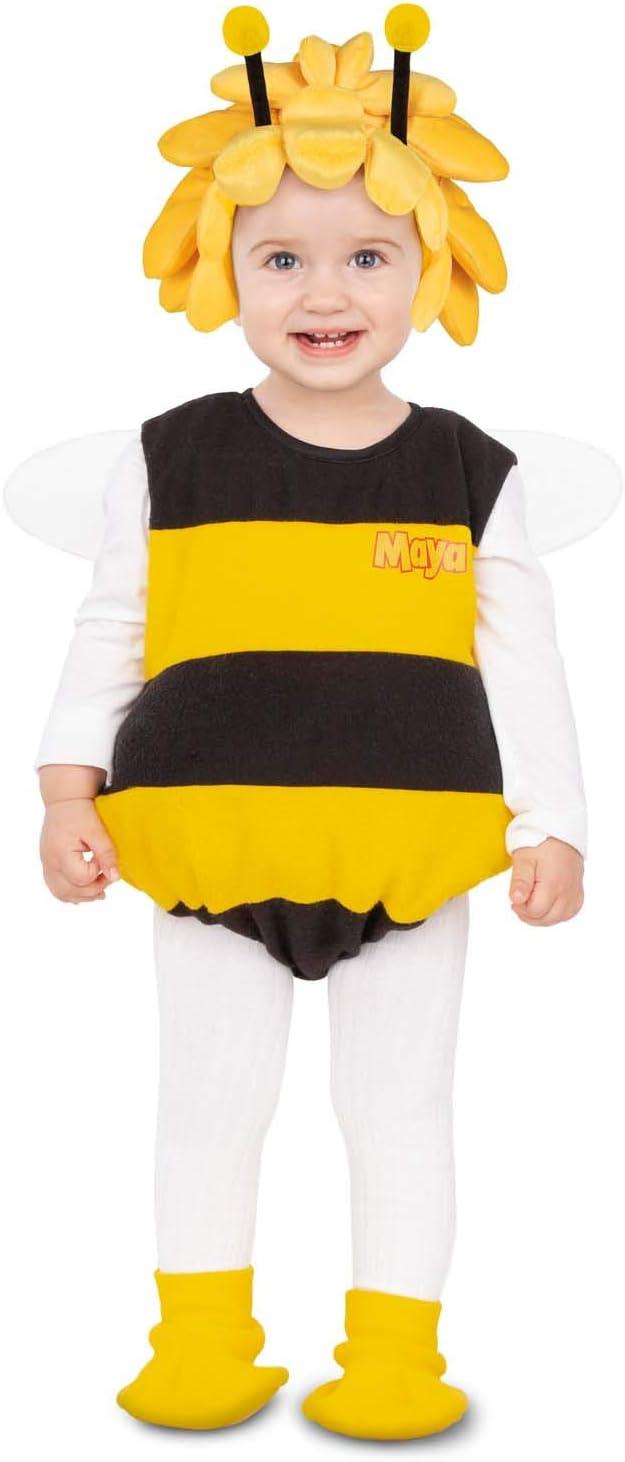 Disfraz Abeja Maya Baby Body, alas, gorro con antenas y patucos ...