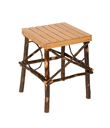 Amazon.com: Amish Made - Mesa de madera maciza con acabado ...