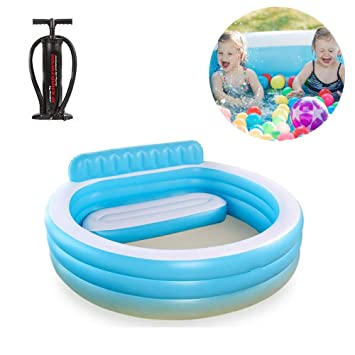 WSN Small Frame Piscinas Hinchables,Piscina Blow Up para ...