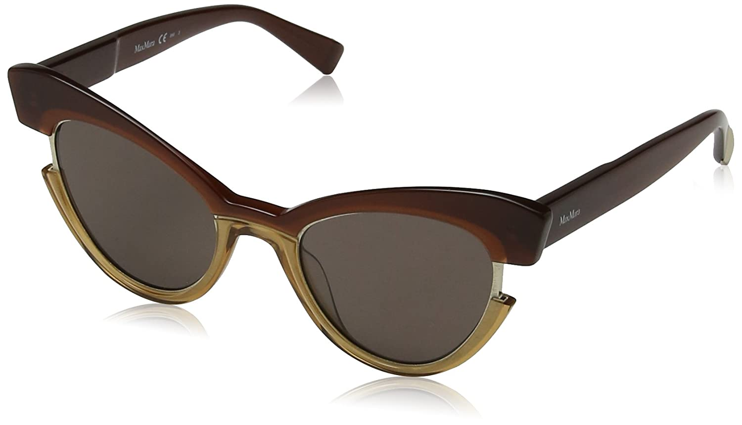 f8b35aa3029 Amazon.com  Max Mara Women s Mm Ingrid Cateye Sunglasses