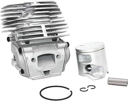 Kit pistone cilindro 43mm per Jonsered CS2252 CS2253 CS2253WH 577764706 577764708 577764707