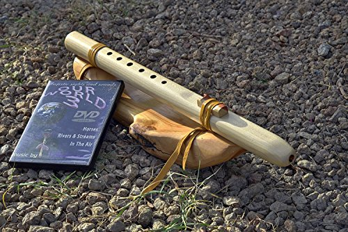 Windpony key of G 6-hole Poplar Native American Style Flute with DVD