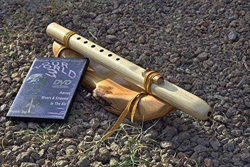 Windpony key of G 6-hole Poplar Native American Style Flute with DVD