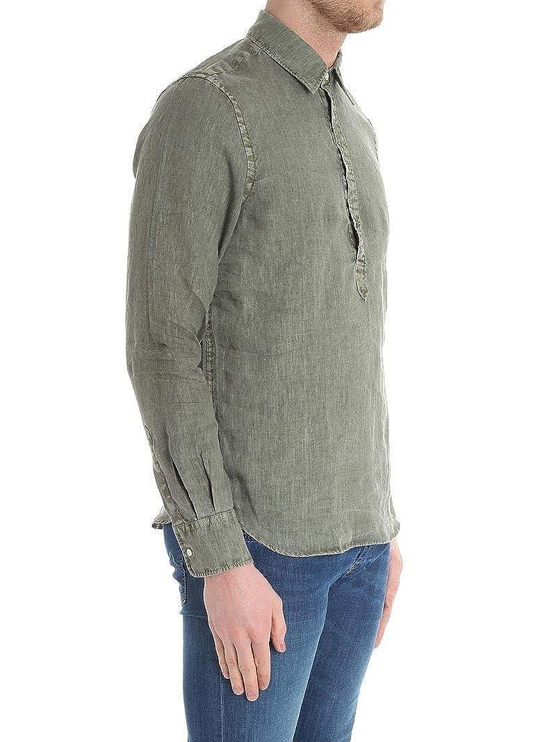Spring Summer 19 Aspesi Luxury Fashion Mens CE66C19585169 Green Shirt