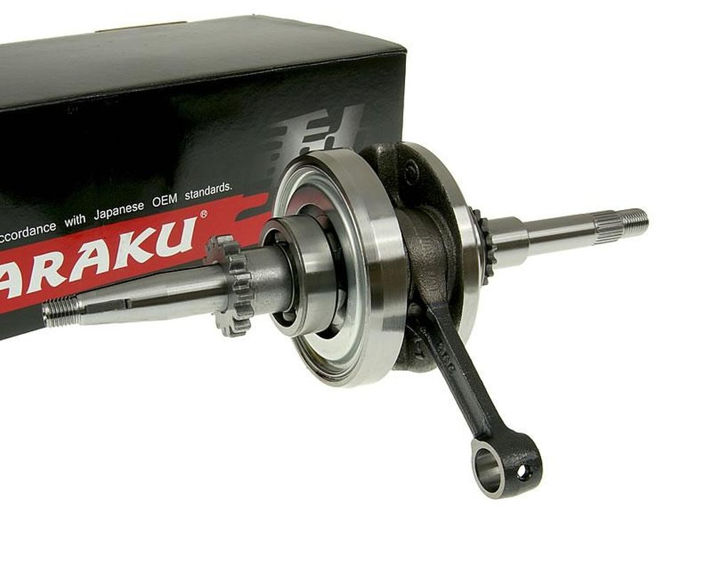Naraku crankshaft heavy duty with 16 tooth oil pump driven sprocket for 139QMB/QMA 29017301