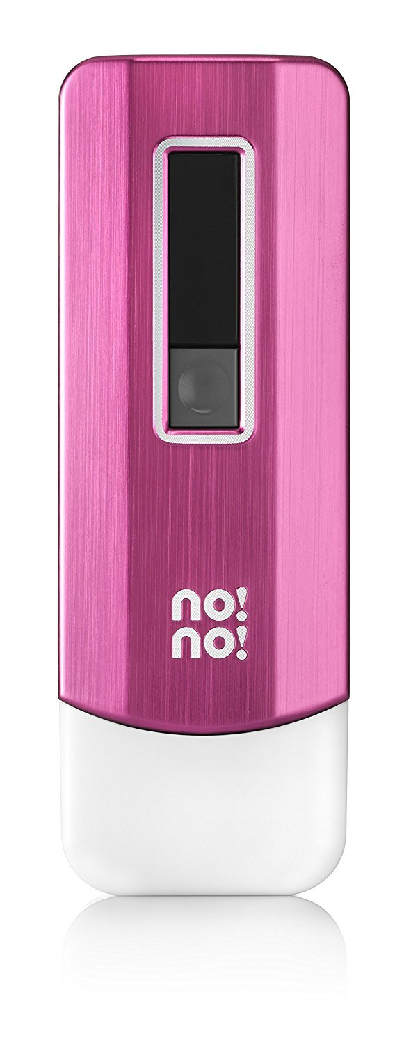 no!no! PRO Hair Removal System for Lasting Results - Basic Kit (Pink) by no!no!