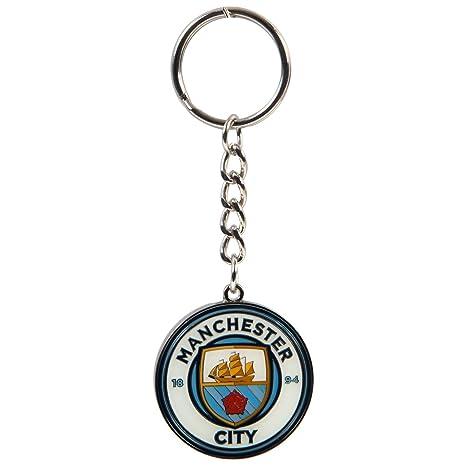 Manchester City F.C. - Llavero con escudo MD: Amazon.es ...