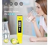 Digital PH Meter Water Quality Tester 0.01 Accuracy Measurement Range 0-14PH Automatic Temperature Compensation (ATC) Drinking Water Hydroponics Spa Aquarium RO