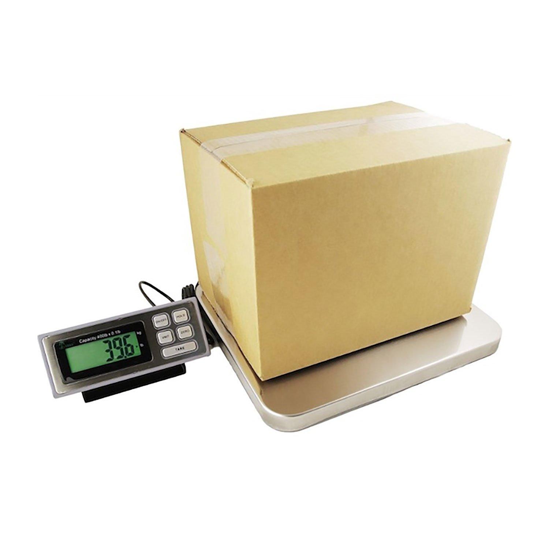 400 LB x 0.1 LB Digital Postal Postage Shipping Scale Stainless Steel Platform USPS UPS FEDEX
