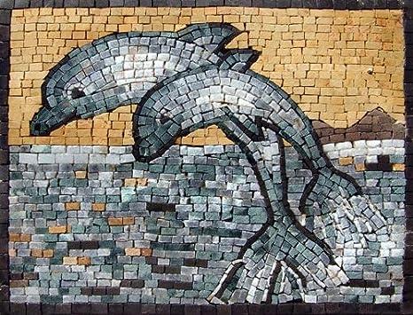 Lhdlily d pavimento pvc sfondo mare delfini d bagno soggiorno